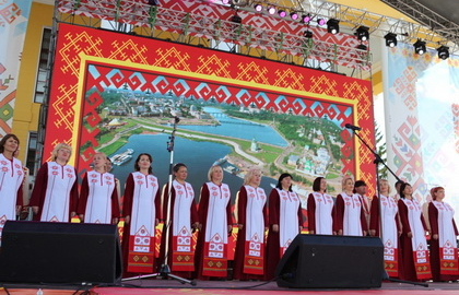 Русские и чувашские народные песни в оригинальных обработках