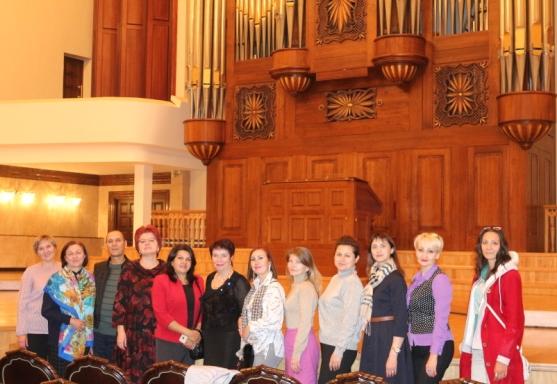 Коллектив Симфонической капеллы на фестиваль органной музыки «Рубиновые звезды»