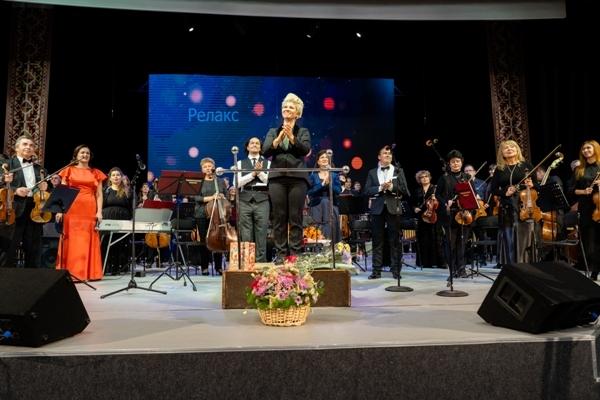 Финал концерта «Релакс в большом городе» - Чувашская симфоническая капелла
