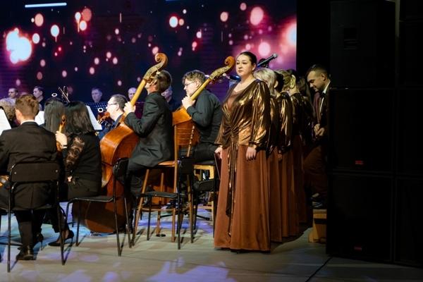Хор Чувашской симфонической капеллы на концерте «Релакс в большом городе»