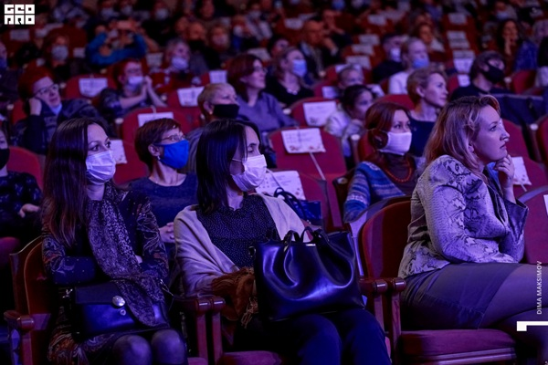 Зрители на концерте «Ирония судьбы или с Новым годом»