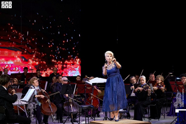 Дирижер, заслуженный деятель искусств Чувашской Республики Наталья Яклашкина