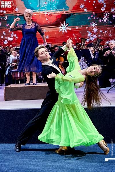 Воспитанники танцевально-спортивного клуба «Рубин»