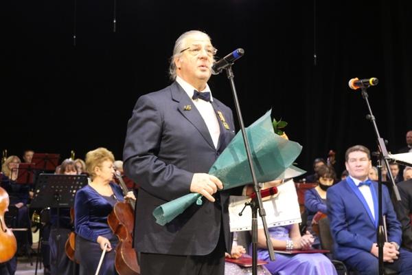 Артист оркестра Мосолков Константин Гаврилович.