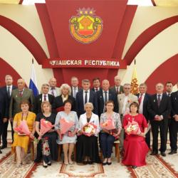 Поздравляем Мориса Николаевича Яклашкина с почётным званием  «Почётный гражданин Чувашской Республики».
