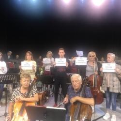 Чувашская государственная академическая симфоническая капелла участвует во флешмобе «Мы – против терроризма».